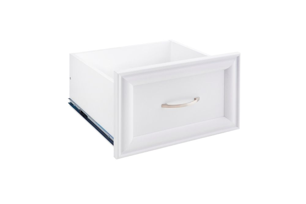 ClosetMaid ClosetMaid Selectives Narrow 16in x 10in White Decorative Drawer