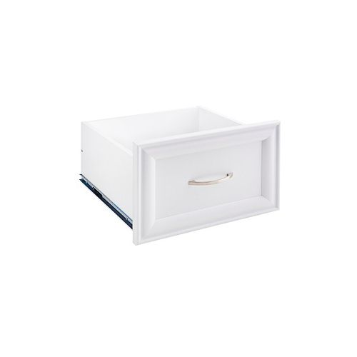 ClosetMaid Selectives Narrow 16in x 10in White Decorative Drawer