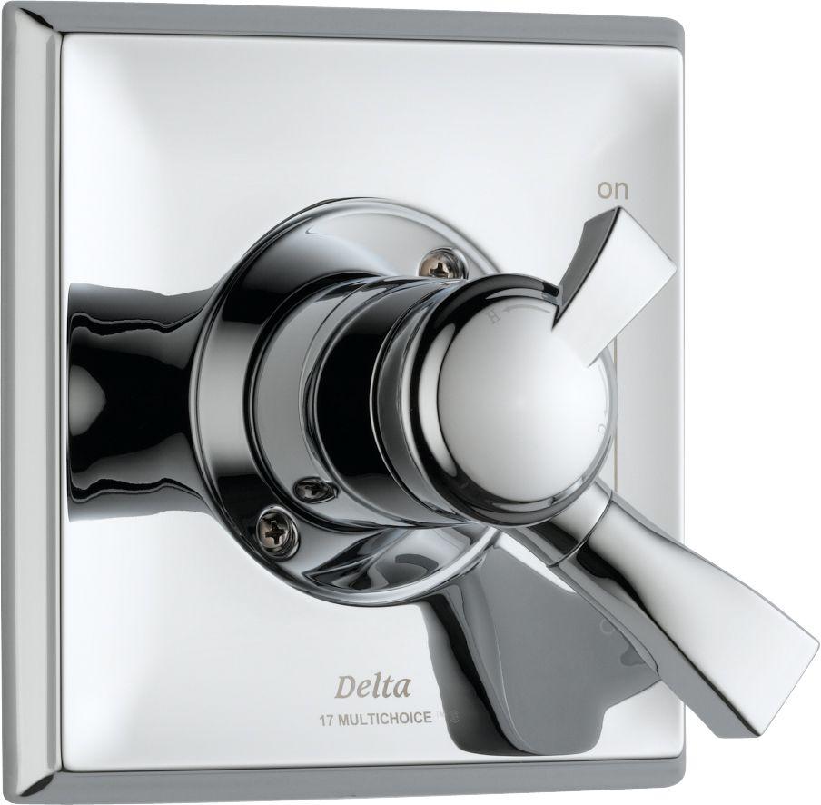 Dryden 1-Handle Diverter Valve Trim Kit in Chrome (Valve Not Included)