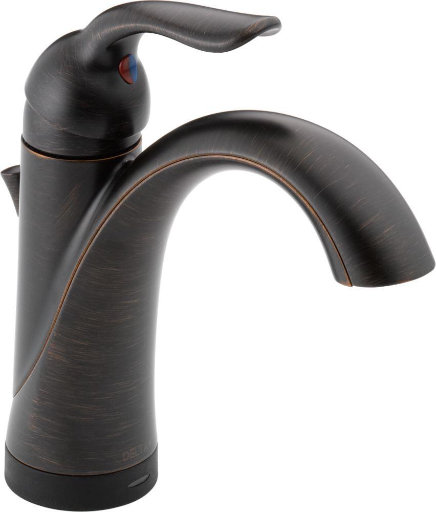 Lahara - Mitigeur monotrou pour la salle de bains, Venetian Bronze