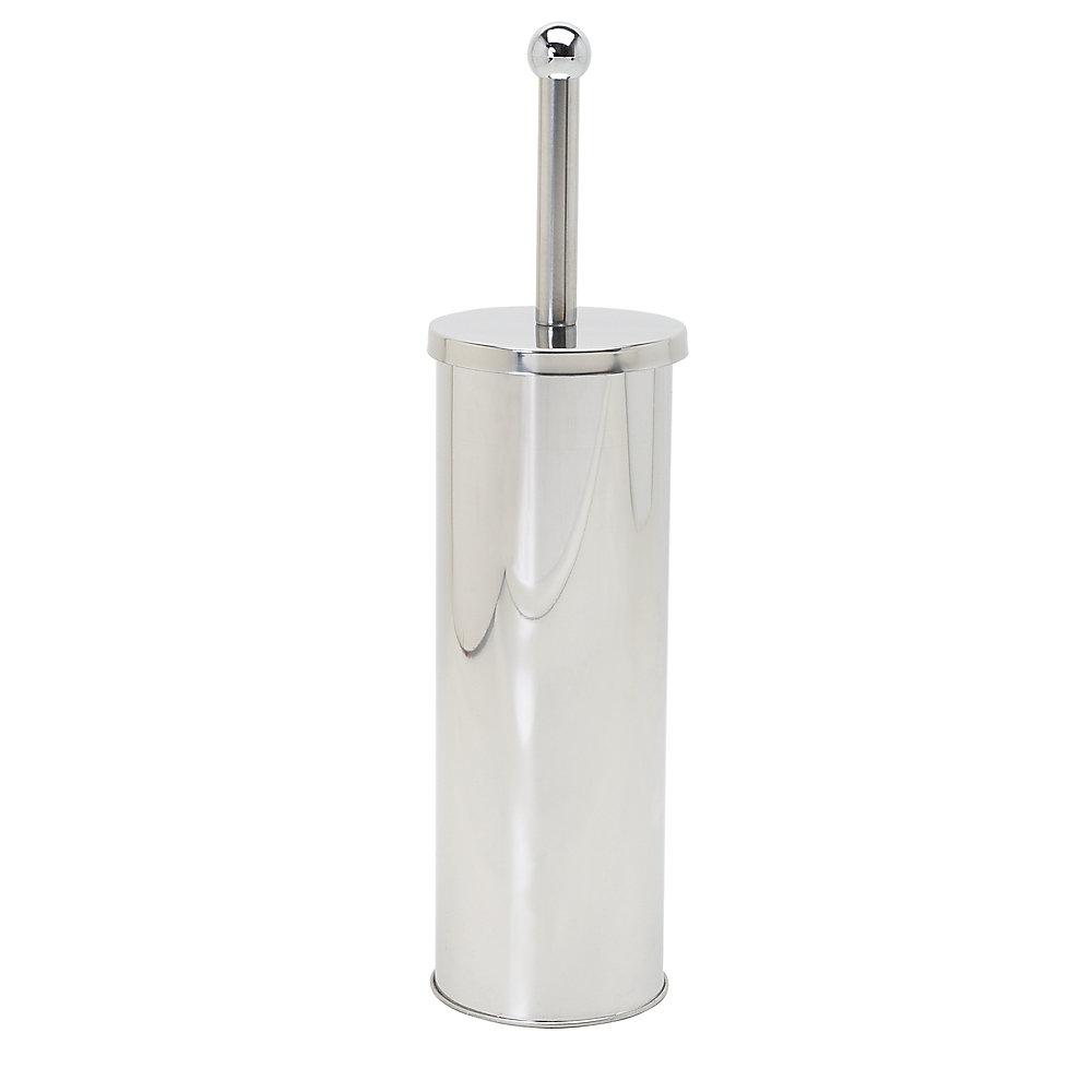 Bowl Brush Canister in Stainless Steel