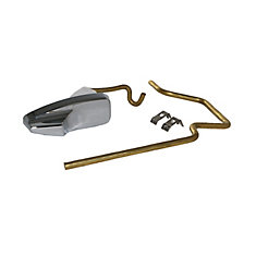 Replacement Toilet Tank Lever with Linkage for GERBER Pressure assist Ref: 99-571-KT, Chrome