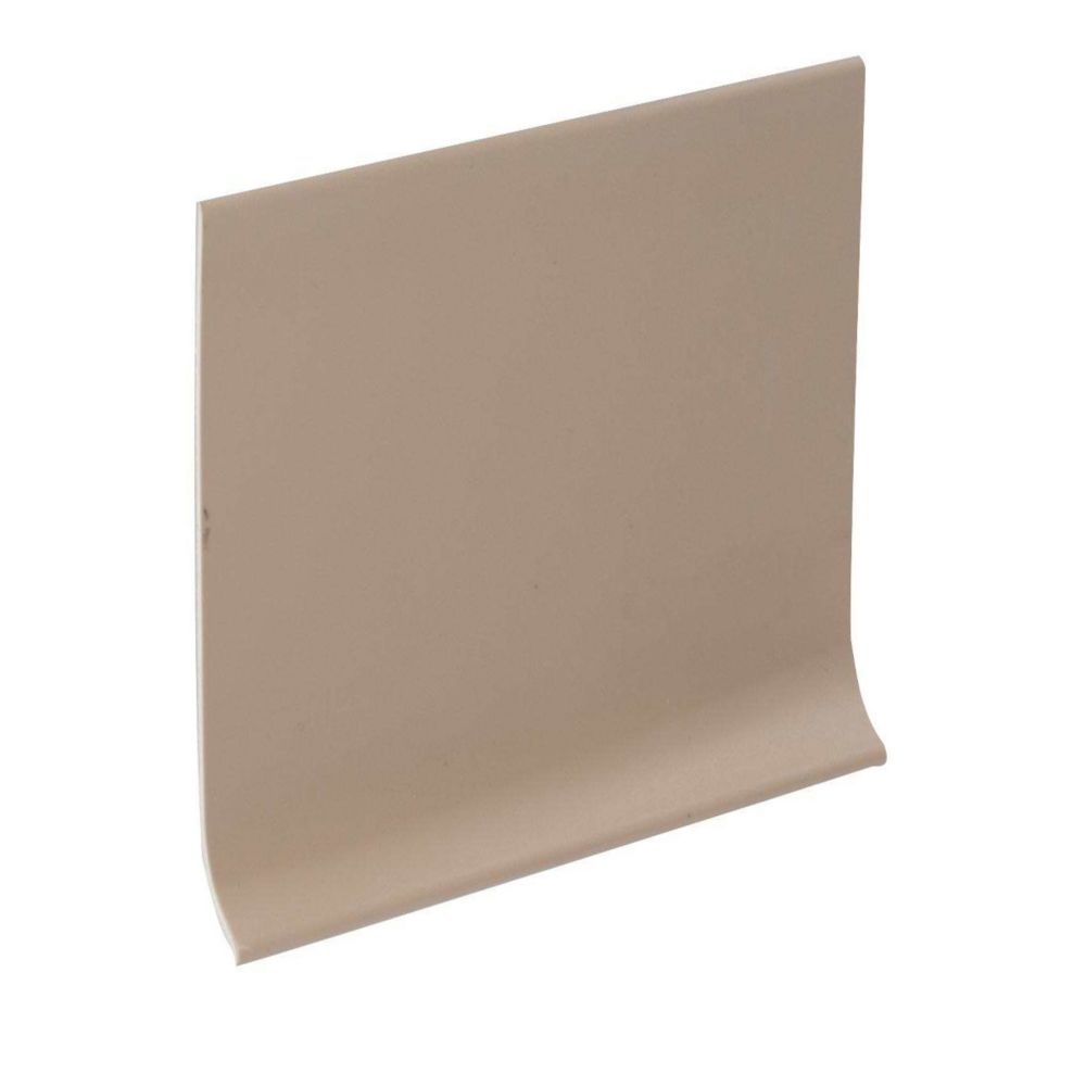 Shur Trim 4-inch Vinyl Wall Cove Base - 120 Foot Roll - Beige