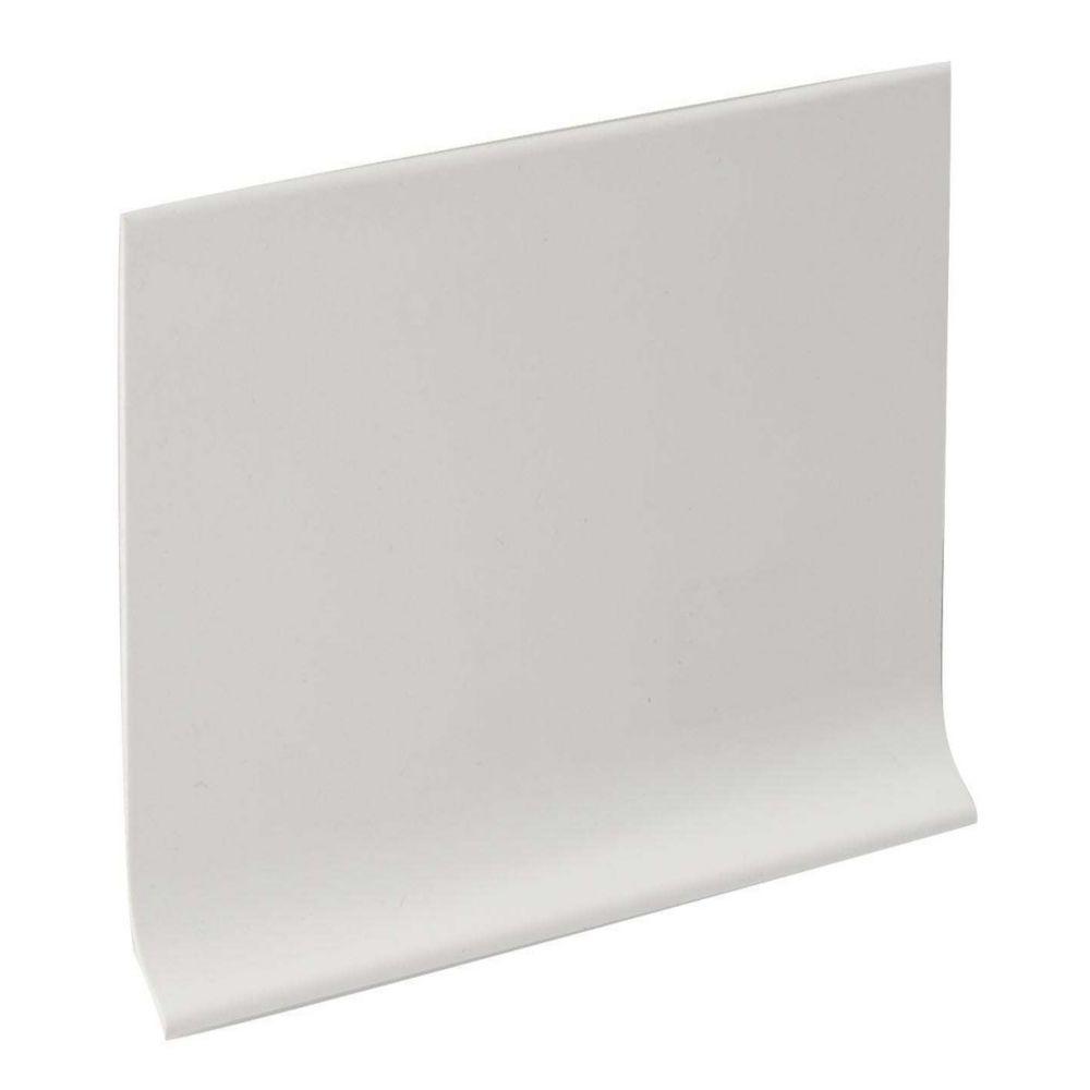 Plinthe Murale De 4 Pouce En Vinyle - Rouleau De 120 Pied - Blanche