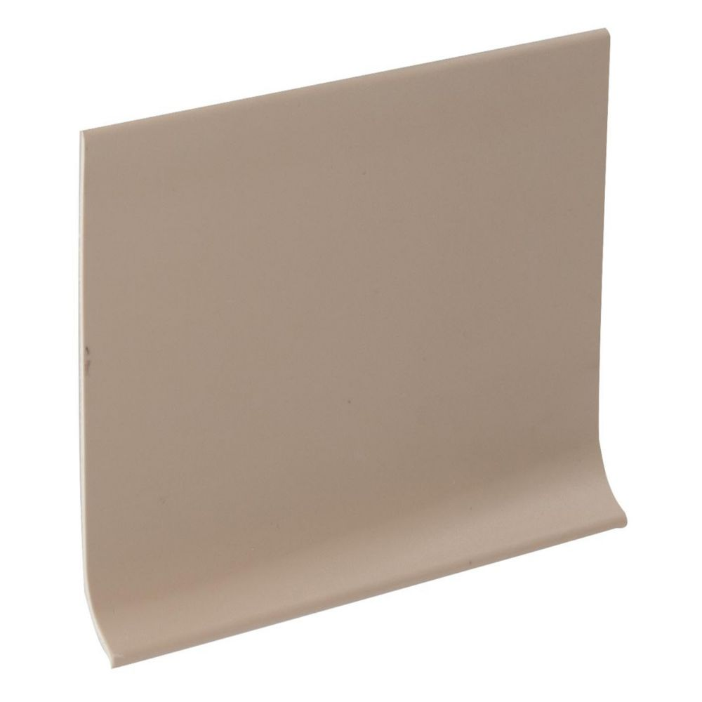 4 Inch Vinyl Wall Cove Base - 120 Foot Roll - Putty