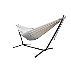 Brazilian-Style Double Hammock in Natural