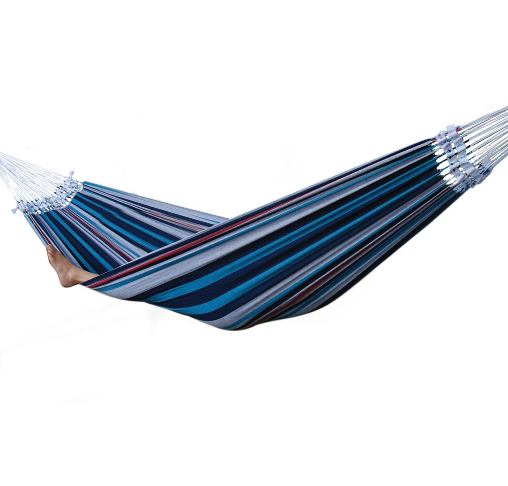 Brazilian-Style Double Hammock in Denim