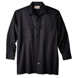 Dickies 574 Chemise de travail à manches longues avec fermeture à boutons- Moyen