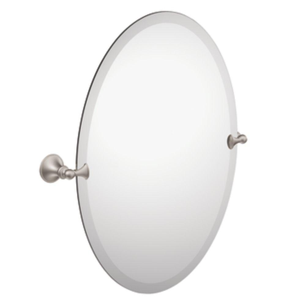 Miroir nickel brossé