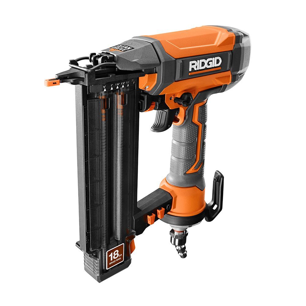 RIDGID  Cloueuse de finition pour clous 21/8 po de calibre 18