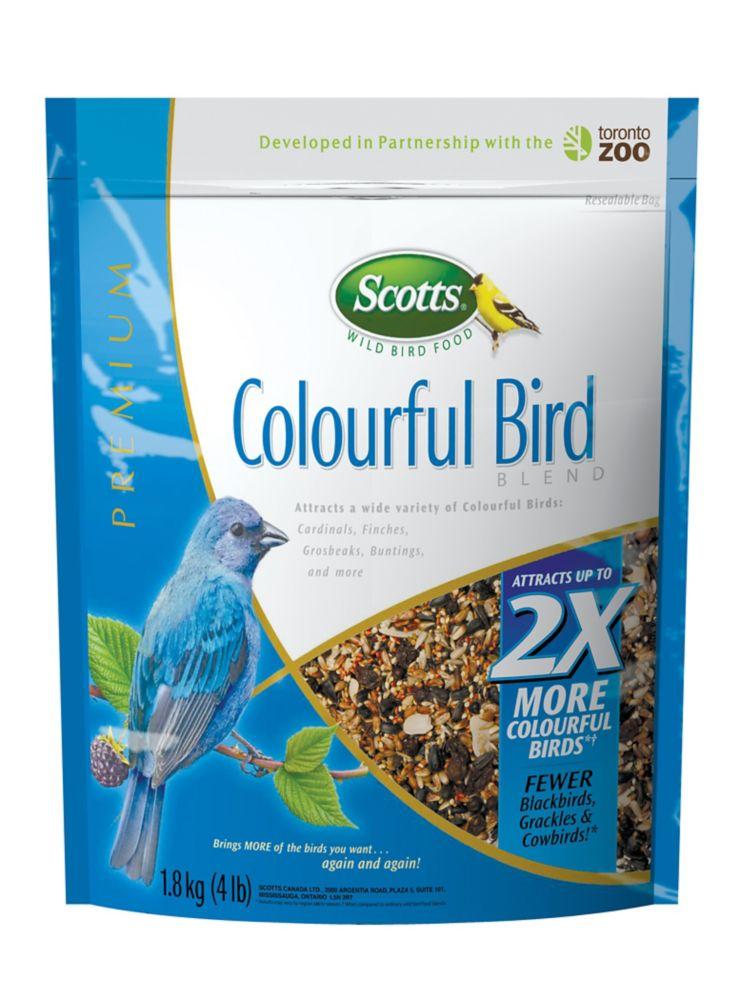 Scotts SCOTTS COLOURFUL BIRD 3X1.8KG