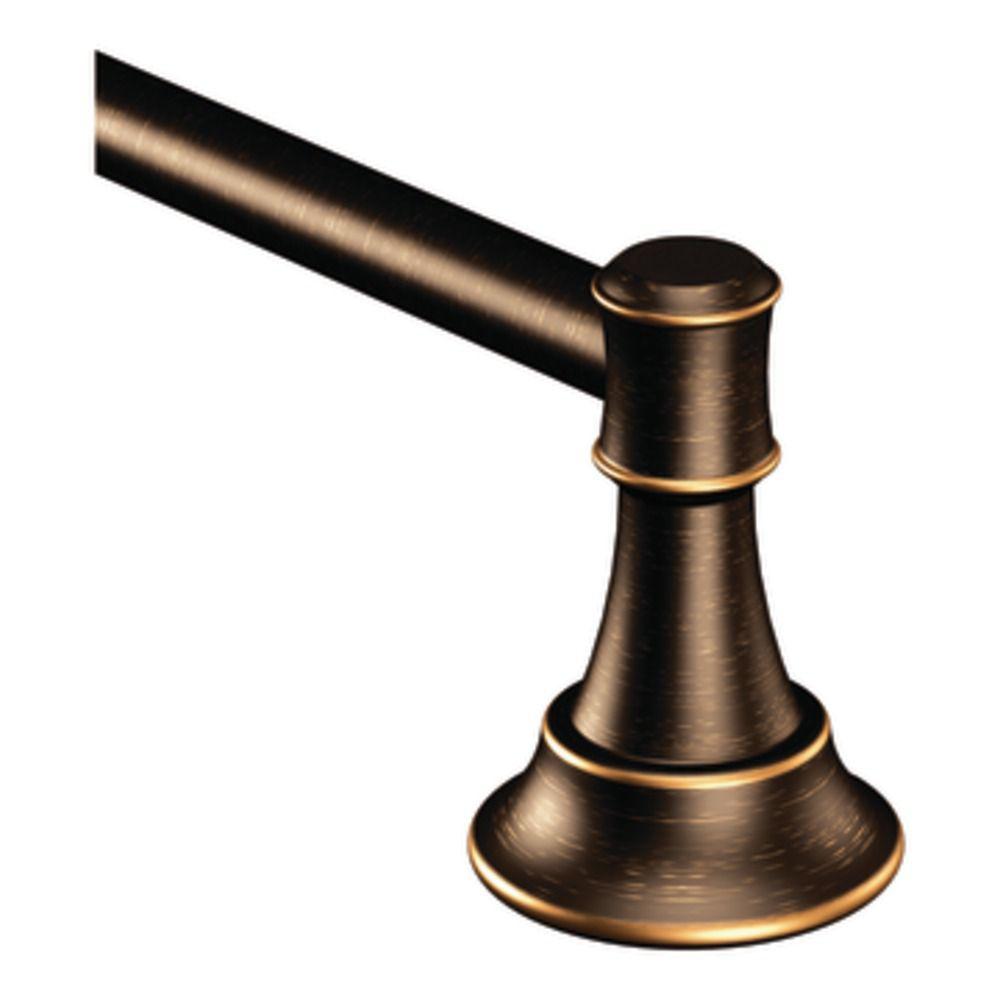 Porte-serviettes 24 po bronze méditerranéen