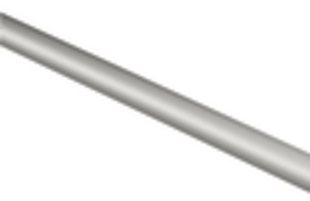 Brushed Nickel 30 Inch Towel Bar Only 3/4 Inch Diameter