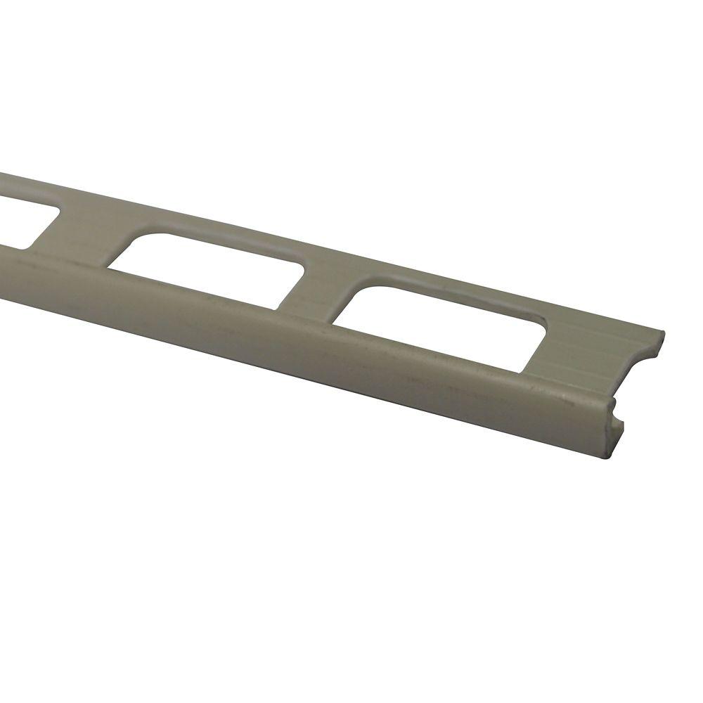 Bordures En Vinyle Pour Carreaux 3/16 Pouce(4MM) - 8 Pied - Os - Paquet de 50