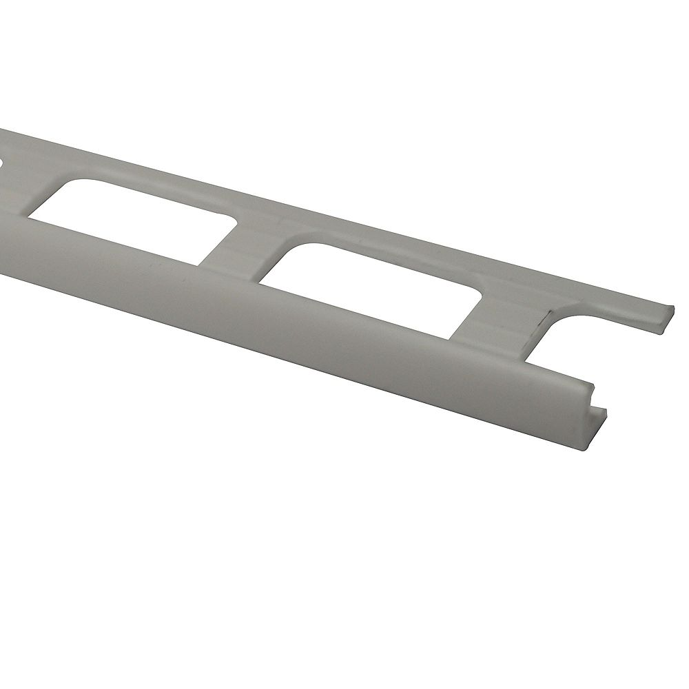 PROVA 3/16 inch (4Mm) Tile Edge - 8Ft - White - 50 Pcs.