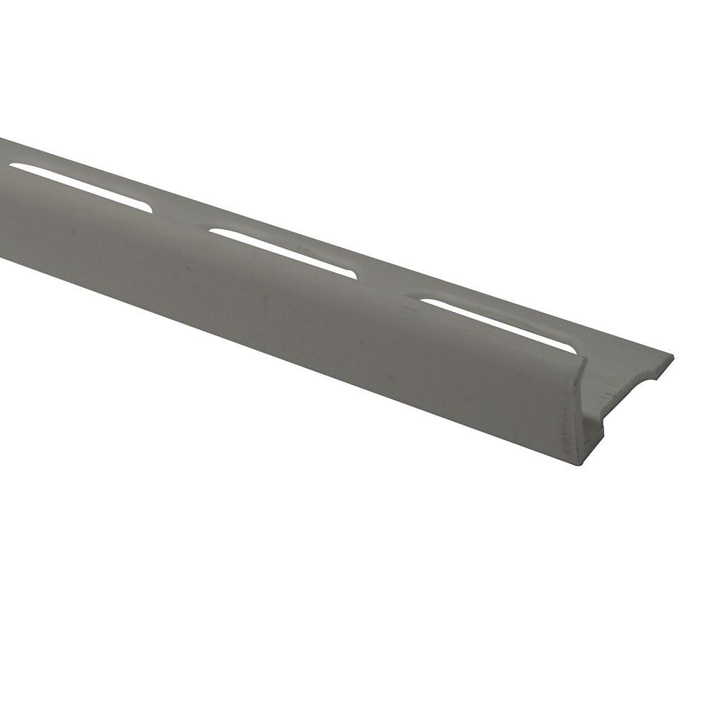 Bordures En Vinyle Pour Carreaux 1/4 Pouce(6MM) - 8 Pied - Os - Paquet de 50