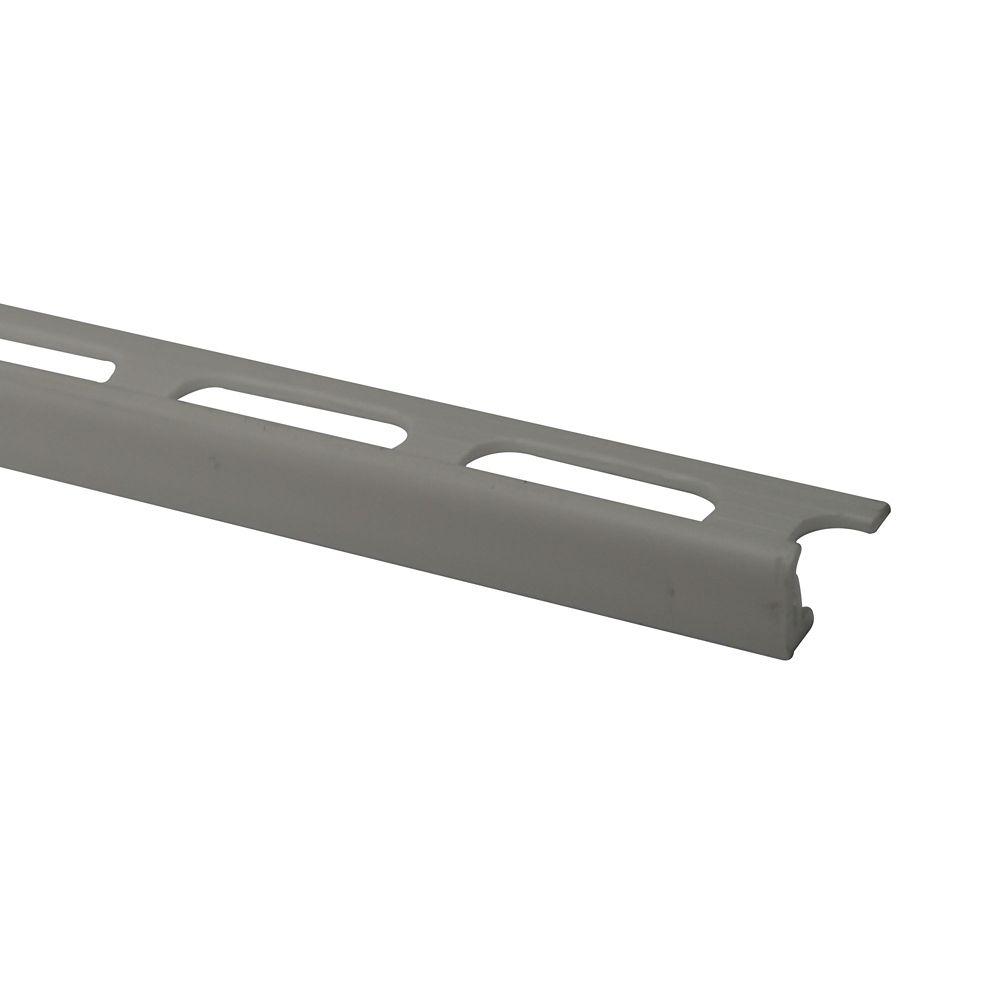 Bordures En Vinyle Pour Carreaux 3/8 Pouce(10MM) - 8 Pied - Blanc - Paquet de 50