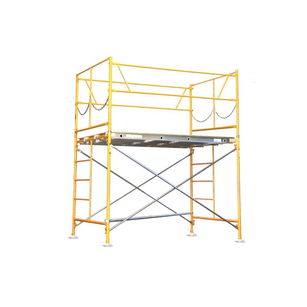 5 foot x 7 foot x 5 foot Scaffold Tower w/Baseplates
