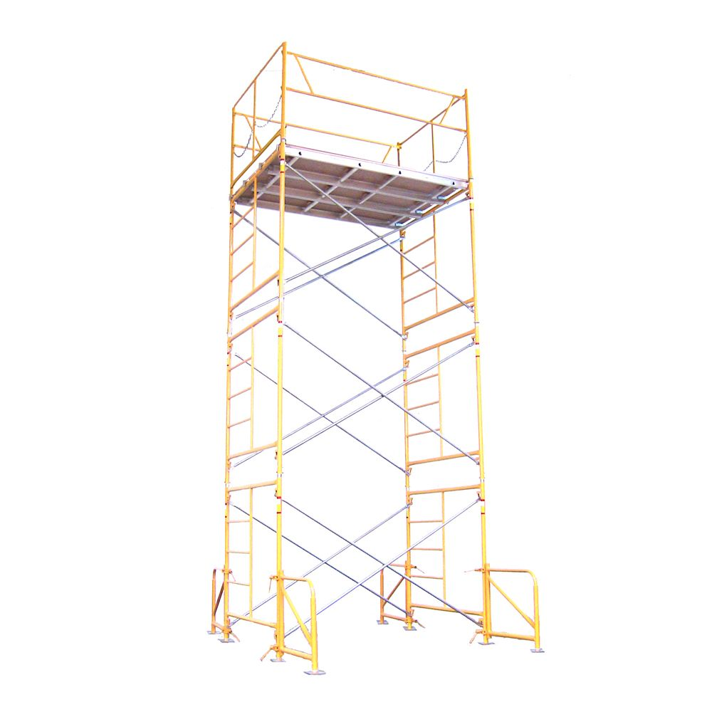 15 foot x 7 foot x 5 foot Scaffold Tower w/Baseplates