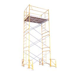 Fortress Industries Llc 15 ft. x 7 ft. x 5 ft. Stationary Scaffold Tower 2475 lb. Load Capacity
