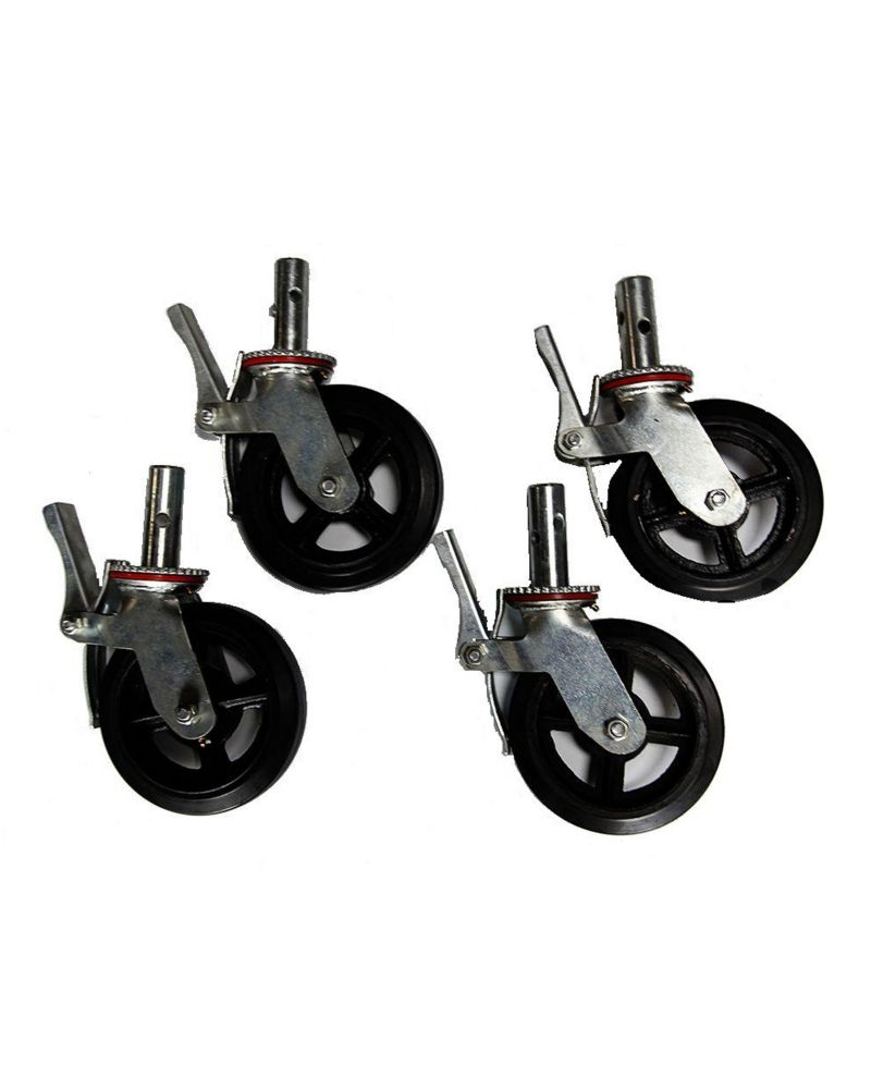 Scaffold 8 inch Casters (4 Pack)