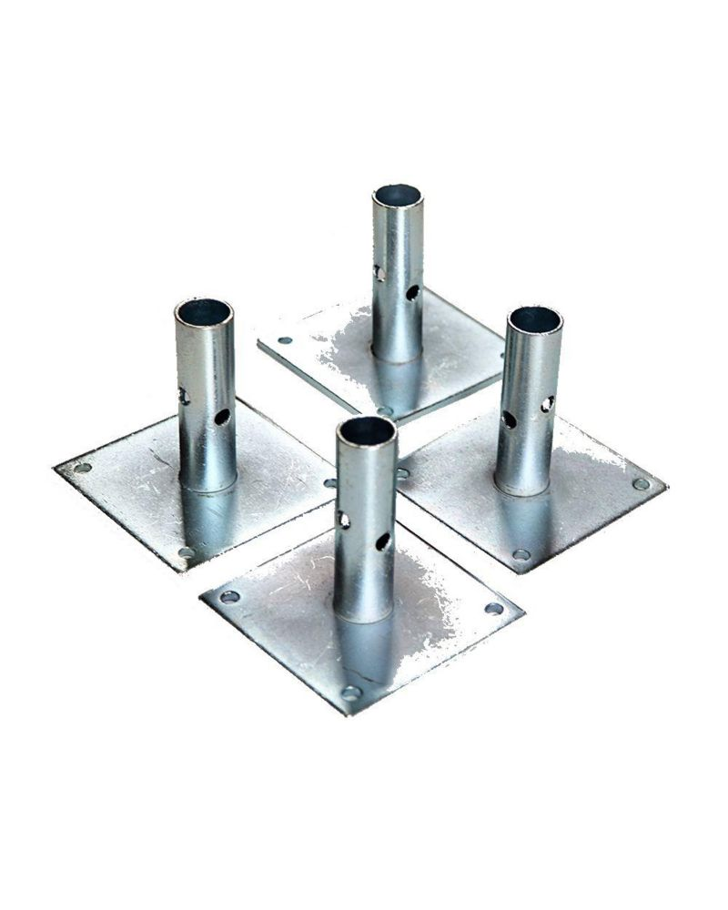 Scaffold 5 inch Baseplates (4 Pack)
