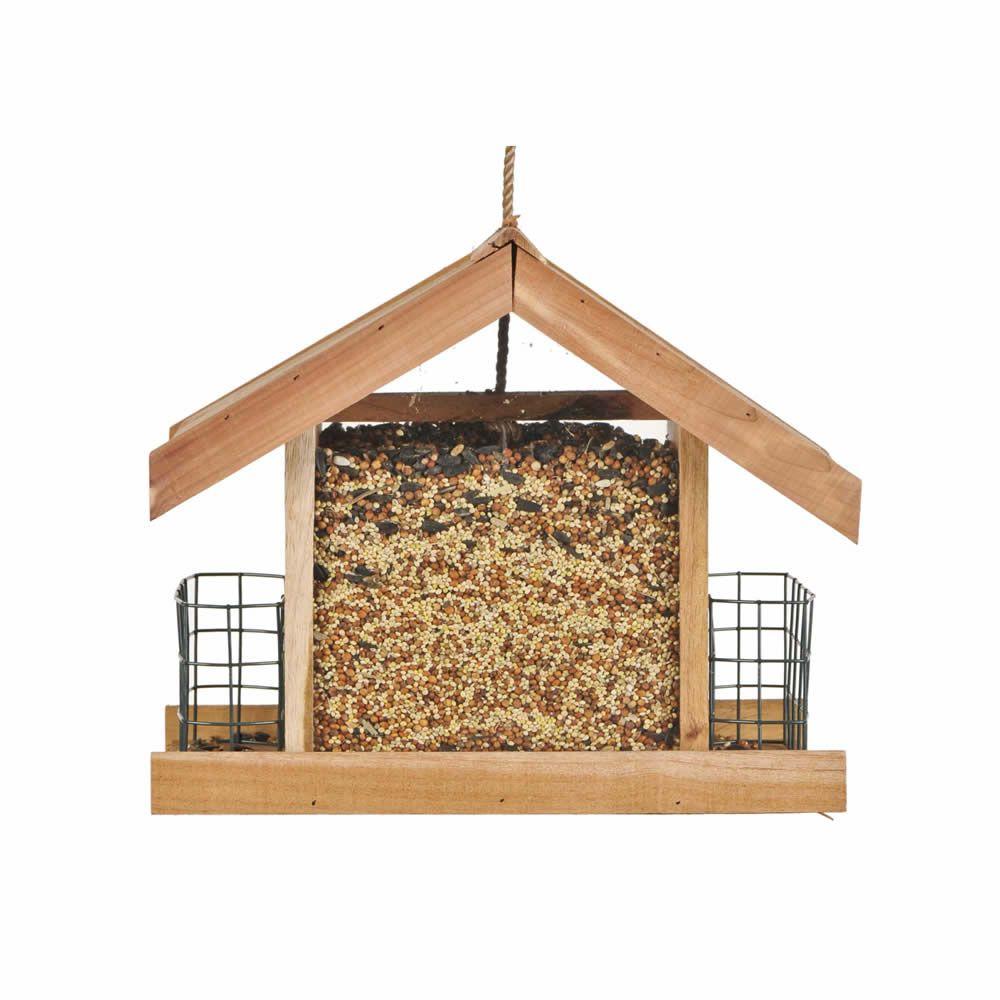 Mangeoire chalet de luxe Perky-Pet pour oiseaux sauvages