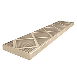 Composigrip 48 inch Beige Anti-Slip Step