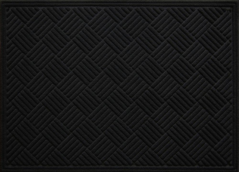 3x4 Contours Black