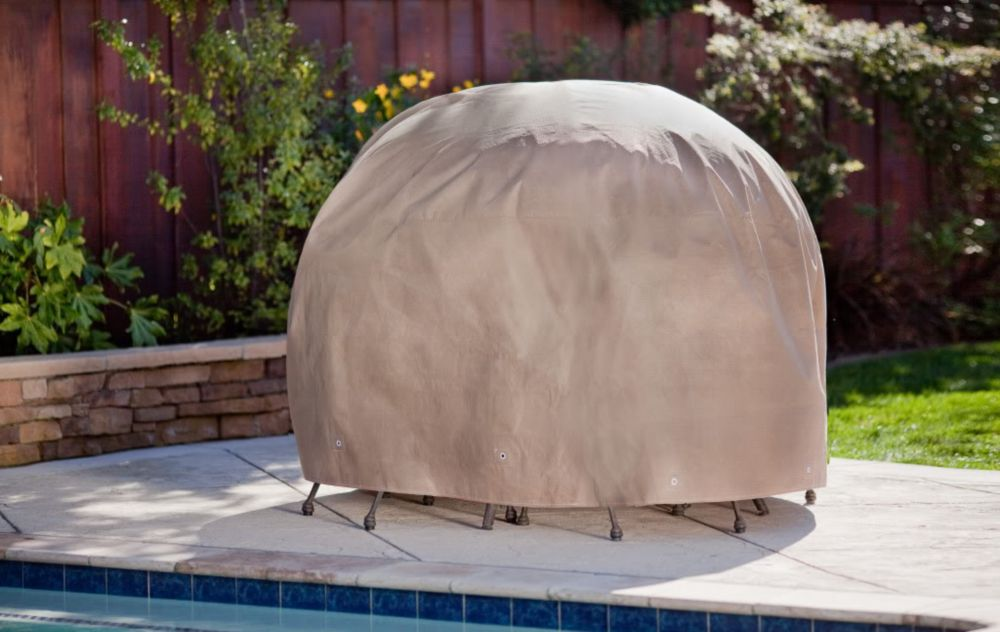 Duck Covers Duck Dome 76-inch Round Patio Set Cover