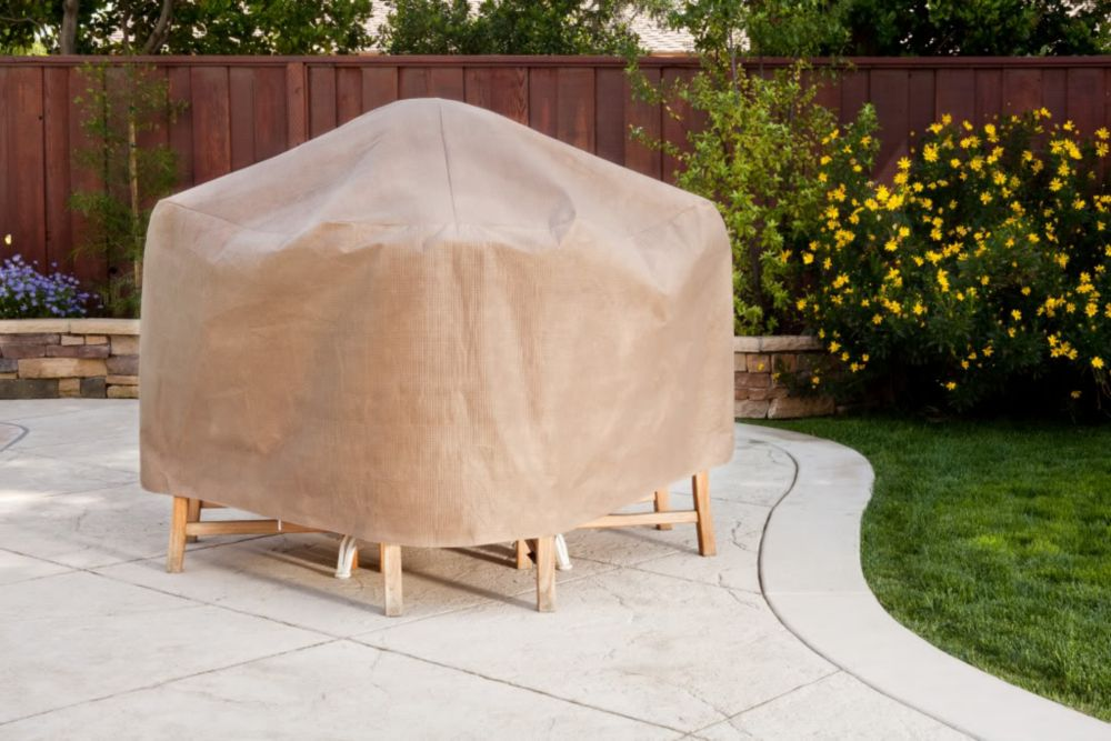 Table with Chairs Cover, SQ