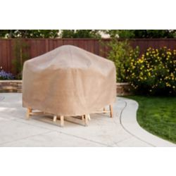 Duck Covers Duck Dome 76-inch Square Patio Set Cover