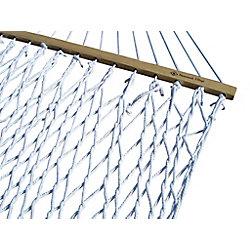 Vivere Hamac, corde de polyester - deux places (blanc)