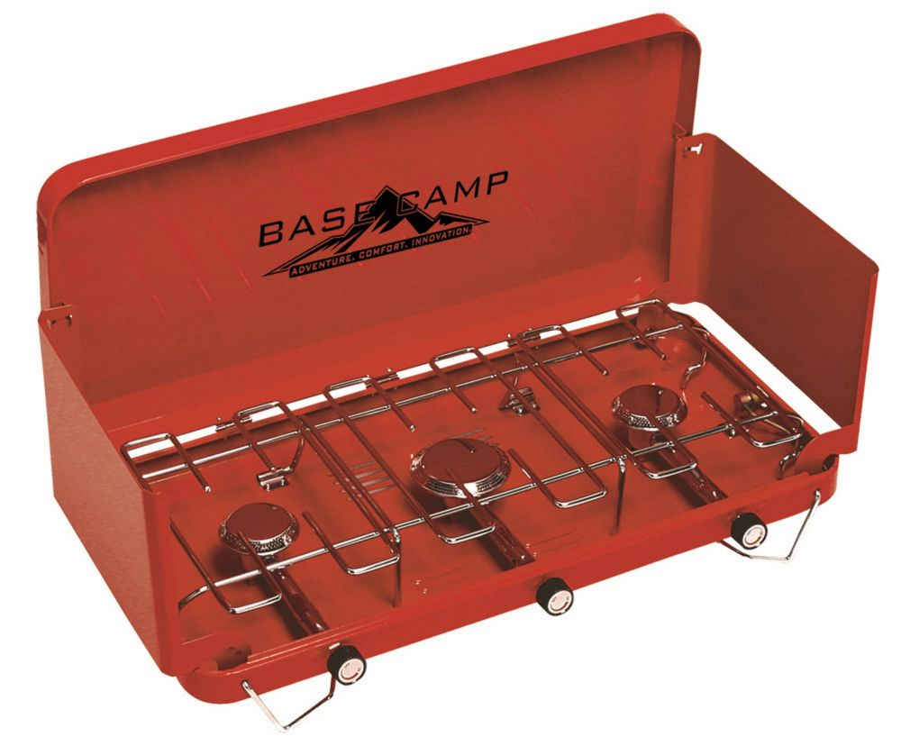 Base Camp 3-Burner Camping Stove