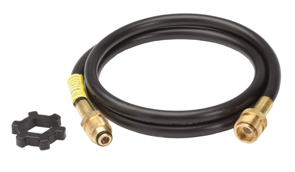 Propane Hose Assembly for Two/Three Burner Stoves - 10 Feet