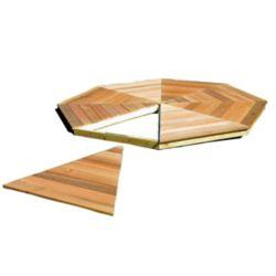Handy Home Products Plancher de pavillon de jardin San Marino, 10 pi