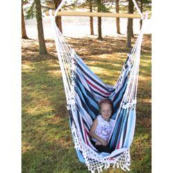 Vivere Brazilian Hammock Chair in Denim