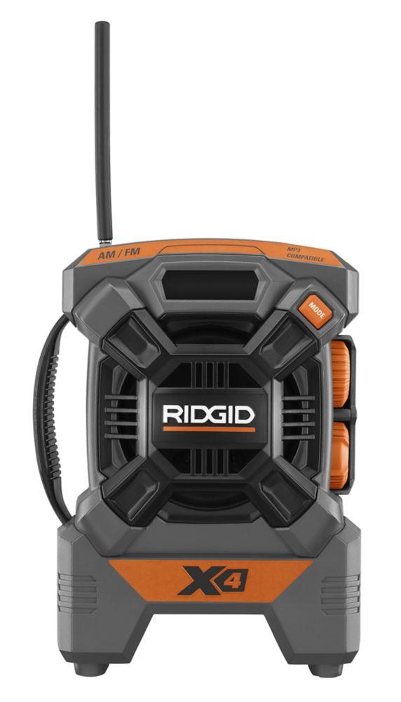 Radio compacte de 18 V