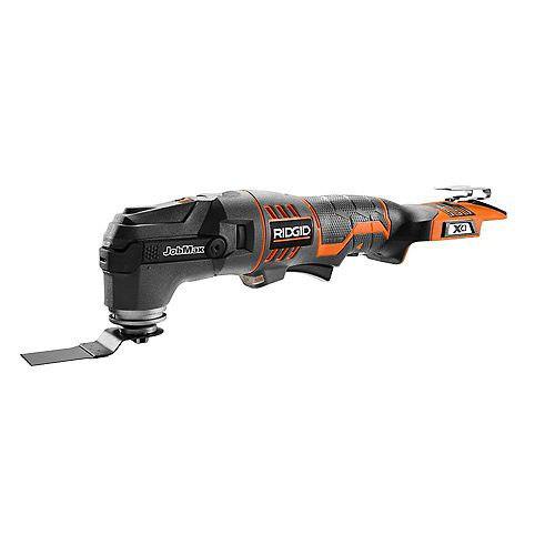 RIDGID 18-Volt Cordless JobMax Console with Tool-Free Multi-Tool Head (Tool-Only)