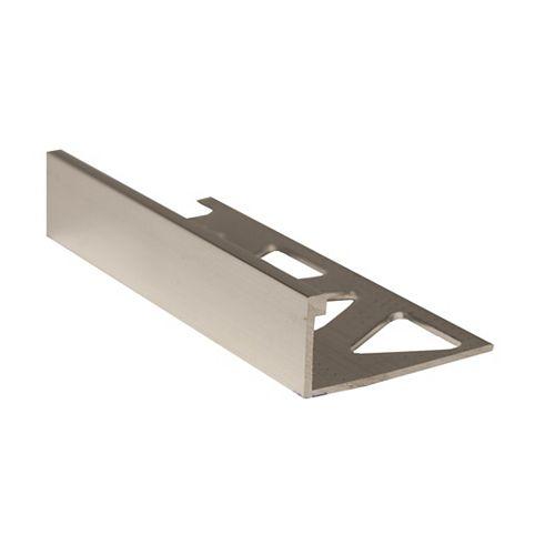 PROVA 1/2 inch (12Mm) Tile Edge - 8Ft -Bright Clear - 10 Pcs.