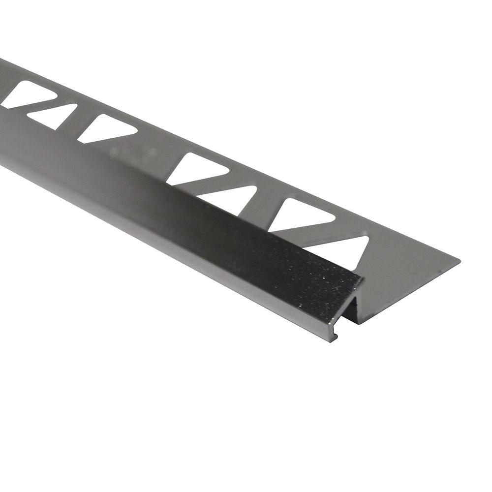 Réducteurs En Aluminium Pour Carreaux 5/16 Pouce(8MM) - 8 Pied - Brillant Clair - Paquet de 10