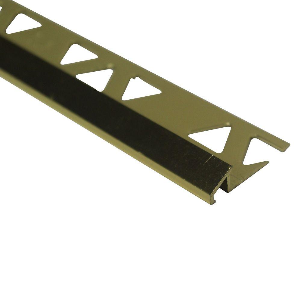 Réducteurs En Aluminium Pour Carreaux 5/16 Pouce(8MM) - 8 v - Cuivre Brillant - Paquet de 10
