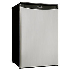 4.4 Cubic Feet Compact All-Fridge - Stainless