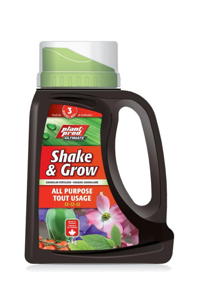 Plant-Prod Shake N Grow All Purpose Fertilizer 12-12-12