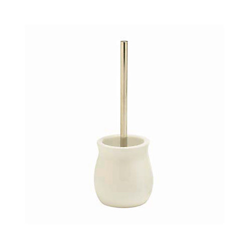 Waterford Toilet Brush With Holder White  Ceramic