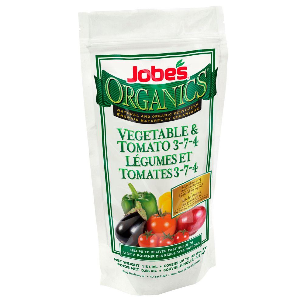 Jobe's Jobe's Organic Granular Vegetable Tomato 1.5 Lb