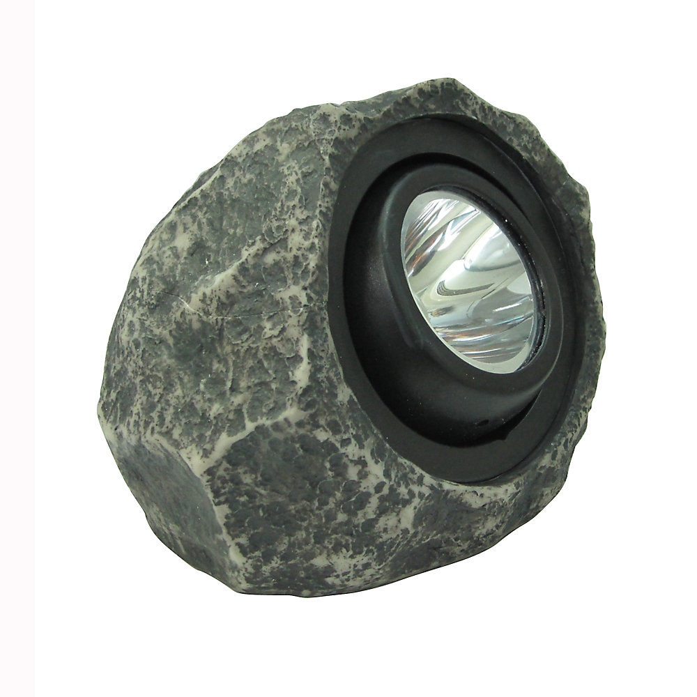 Hampton Bay Solar Rock Spot Light
