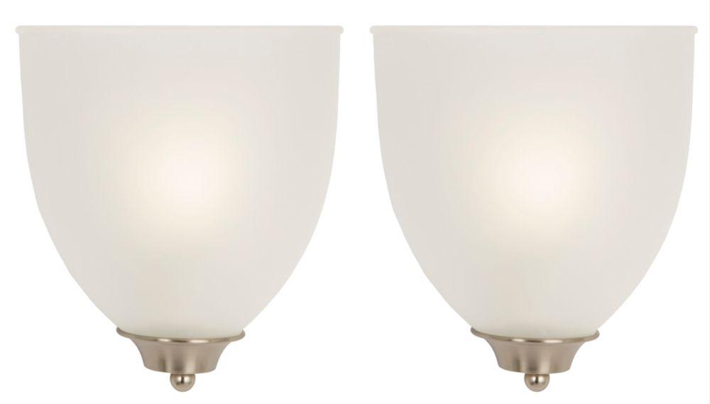 Duo dappliques à une ampoule � Présentoir latéral