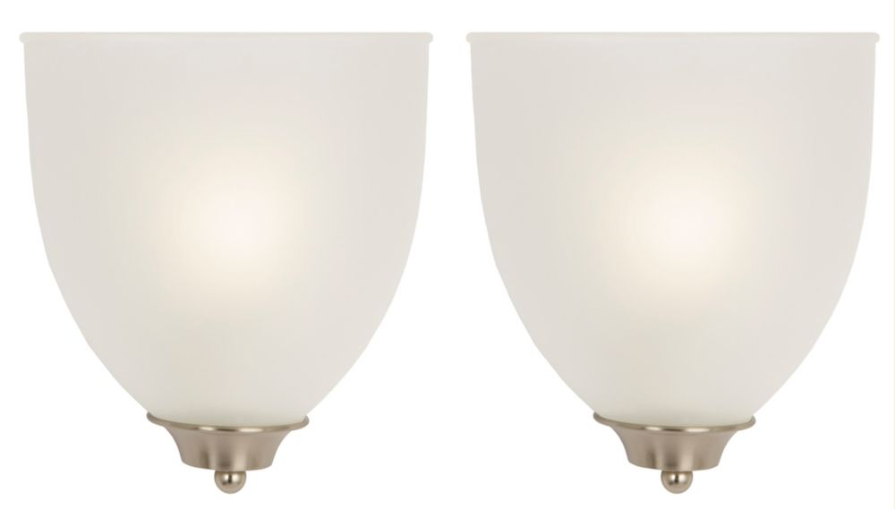 Hampton Bay 2- Pack Wall Sconce