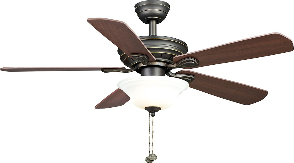 Hampton Bay 44 Inch Wellston Oil Rubbed Bronze